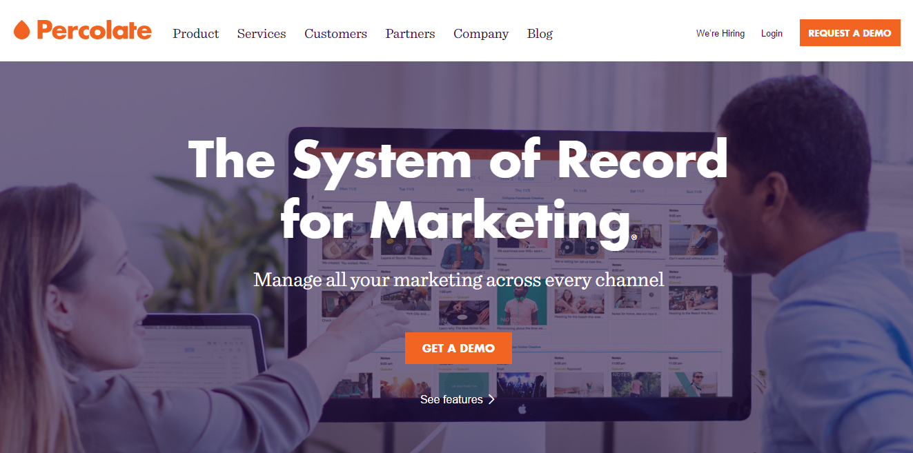 Percolate Tool For Content Marketing Strategy