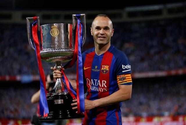 Andres Iniesta  Akan Kaki Dari Barcelona Pada Akhir Musim Panas Tahun Ini
