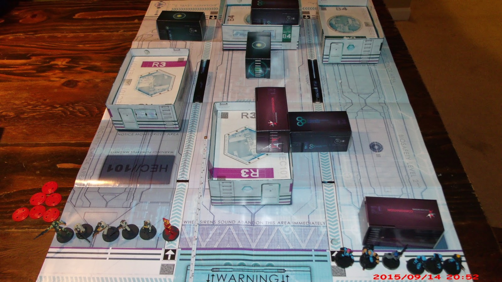Jeff's Gaming Page: One Page Rules - Double Tap playtest - 9/14/15