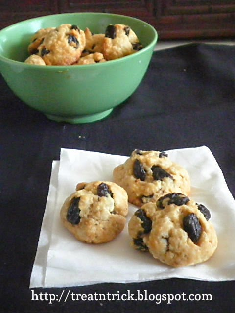 Eggless Rock Cakes Recipe