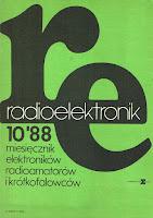 Okładka Radioelektronik 10/88