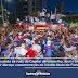 Multidão pinta as ruas da Capital de vermelho, azul e branco para dar abraço comemoração ao inédito título do Fortaleza