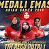 Indonesia Raih 22 Emas Duduki Pringkat ke-4