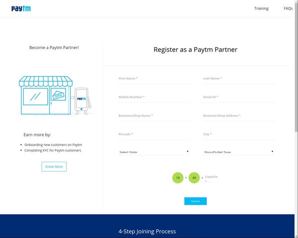 Paytm kyc registration form