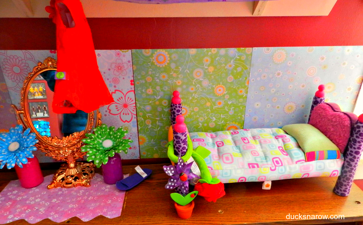 American Girl Doll Room Decorating Ideas - Ducks 'n a Row