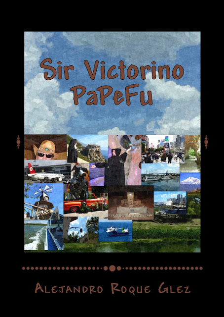 Sir Victorino PaPeFu at Alejandro's Libros