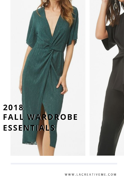 Fall Wardrobe Essentials 2018