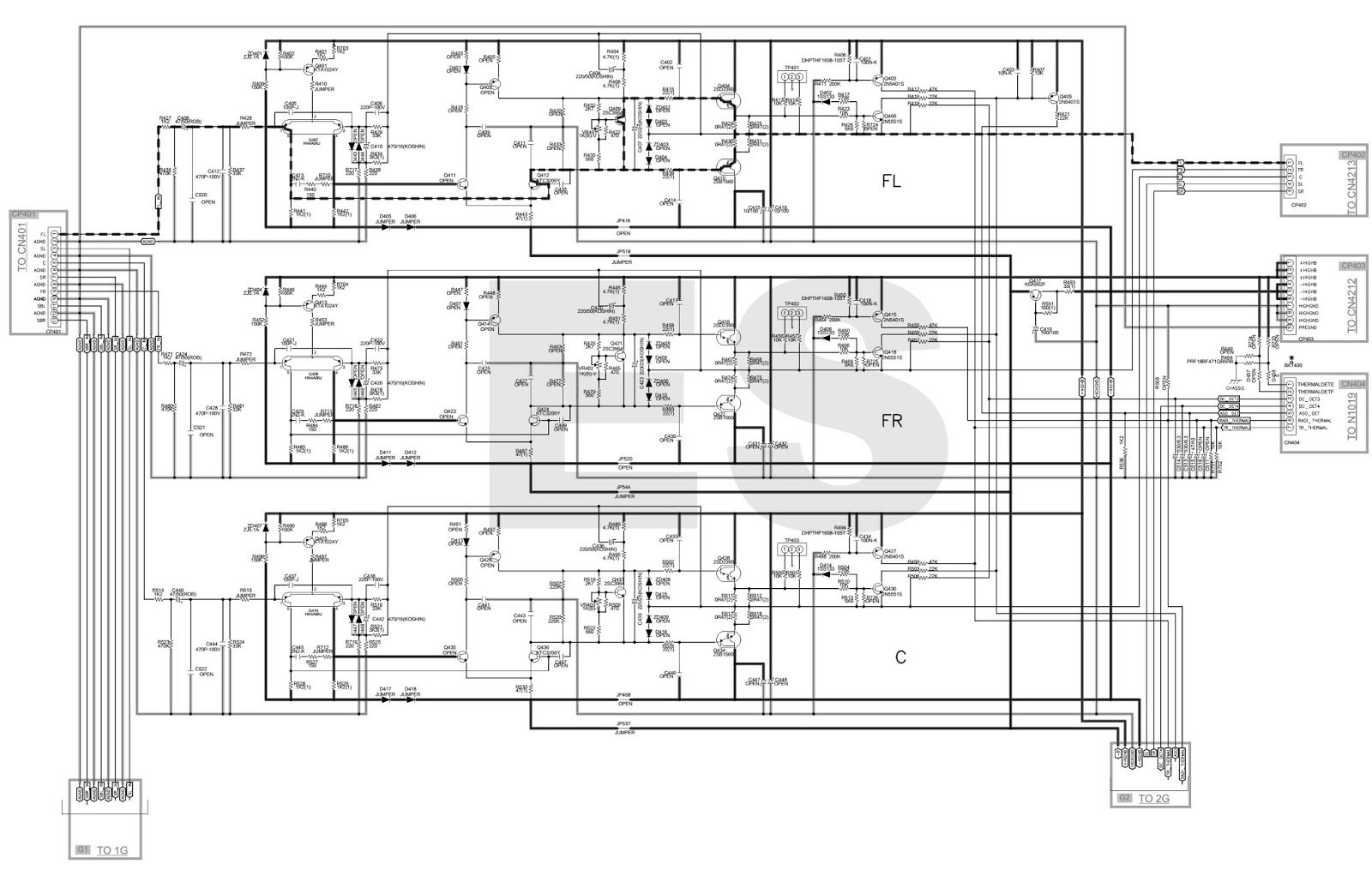 Denon Surround Sound Wiring Diagram