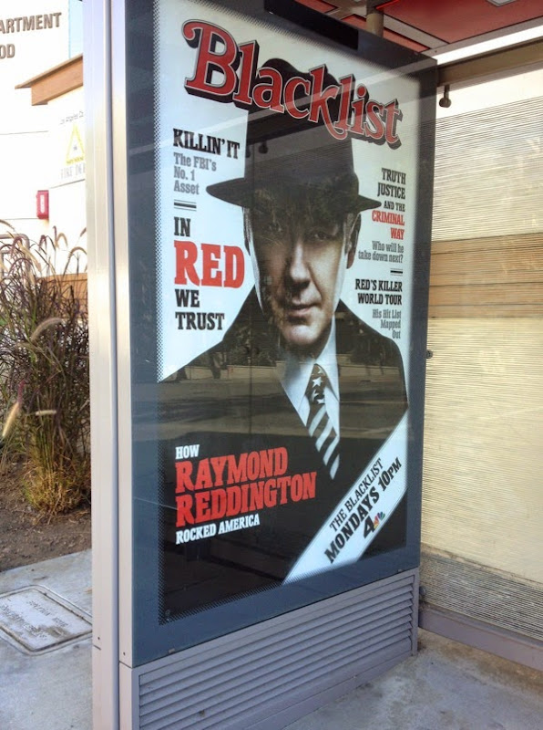 The Blacklist season 2 Rolling Stone magazine homage poster