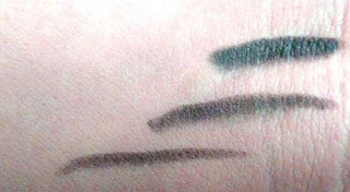 Faces Long Wear Eye Pencil Swatches