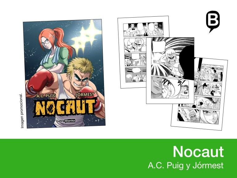 Nocaut - A.C.Puig y Jormest - Letrablanka