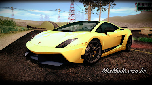 gta sa san mod car carro lamborghini gallardo superleggera forza