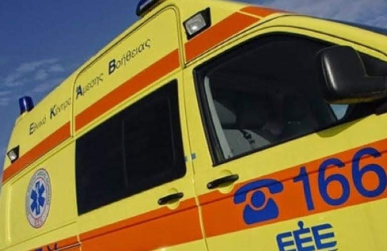Τροχαίο ατύχημα με έναν τραυματία στη Γάννουλη