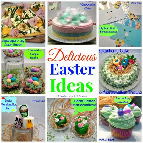 Delicious Easter Ideas ~ from #Brunch to #Desserts to #Kids ! #Easter
