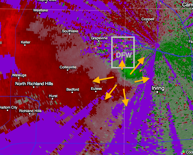 MSE Creative Consulting Blog: Downburst on South Side of DFW
