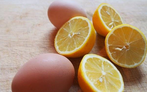 Cách làm trắng da sau 1 đêm với chuối, chanh tươi và trứng gà