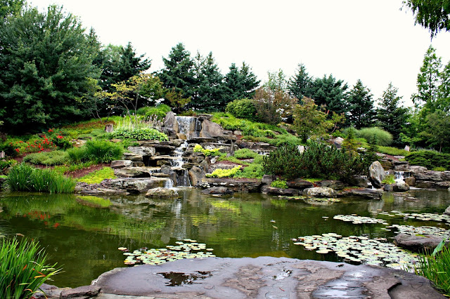 Waterfall at Frederik Meijer Gardens and Sculpture Park