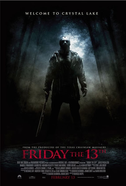Poster of Friday The 13th 2009 UnRated 720p BRRip Full Movie Download