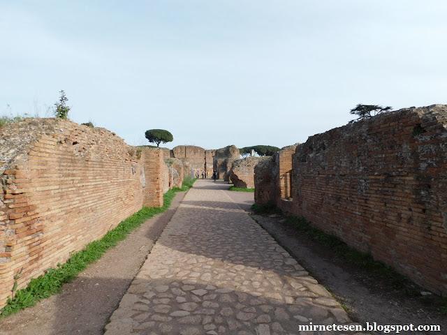 Руины на холме Палатин