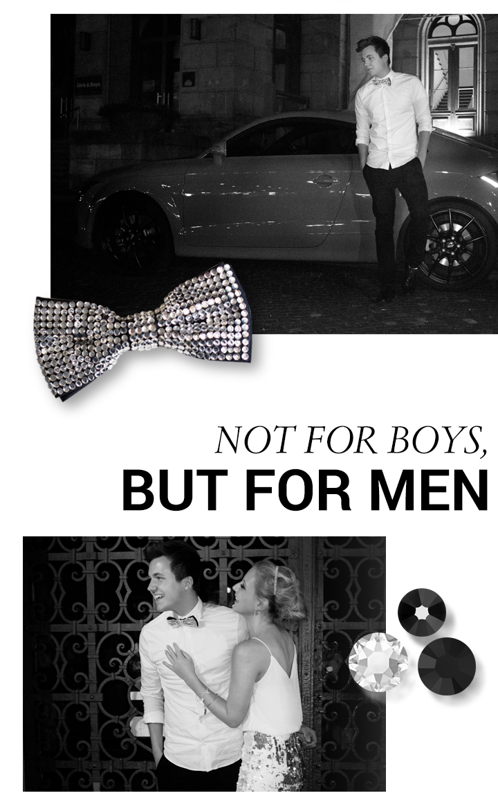 This collage shows crystals and accessories appropriate for men.