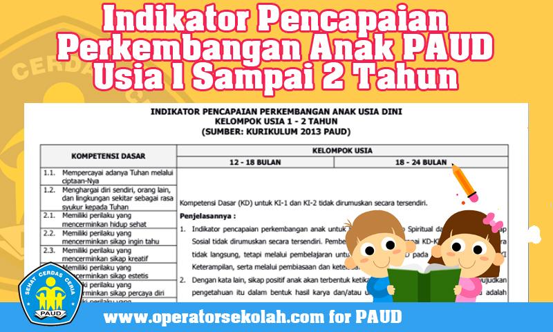 Indikator Pencapaian Perkembangan Anak PAUD Usia 1 Sampai 2 Tahun Kurikulum 2013.jpg