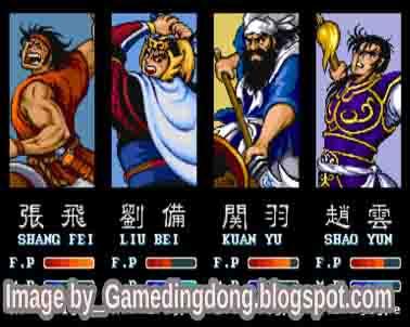 Dynasty Wars - Game Dingdong
