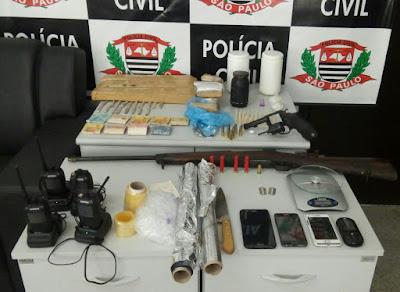 DISE DE JACUPIRANGA PRENDE GRANDE TRAFICANTE DE DROGAS QUE AGIA EM JUQUIÁ E REGIÃO