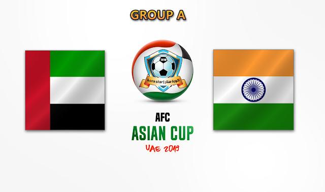 مشاهدة مباراة الامارات والهند بث مباشر 10-01-2019 كأس أسيا