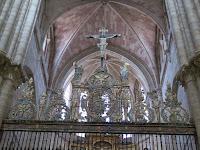 Reja del Coro Catedral de Sigüenza
