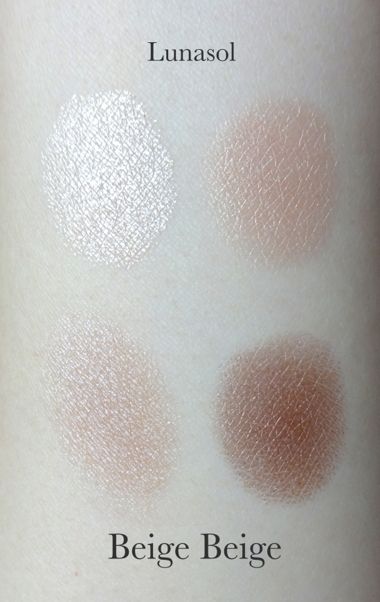Lunasol Skin Modeling Eyes Beige Beige swatches