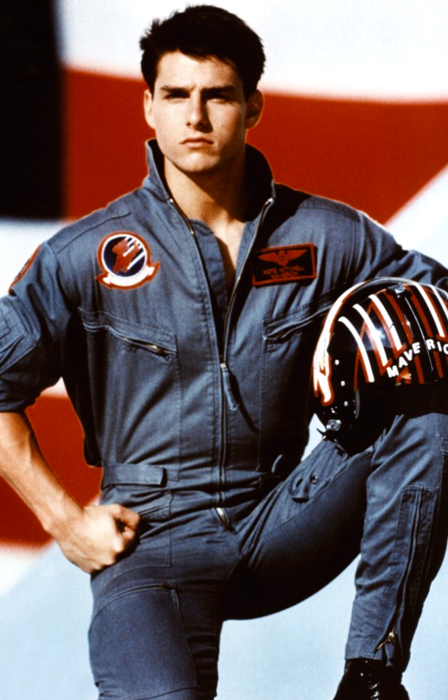 Tom Cruise în Top Gun