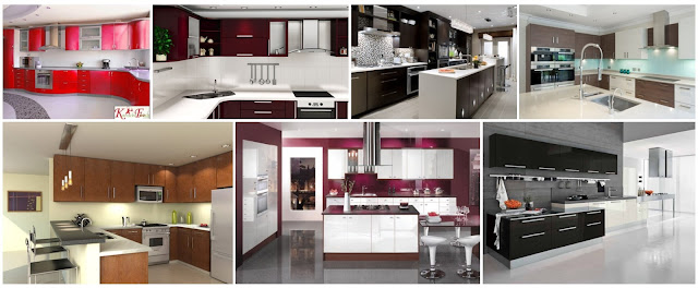 Modern Kitchens That Will Give More Gloss To The Home