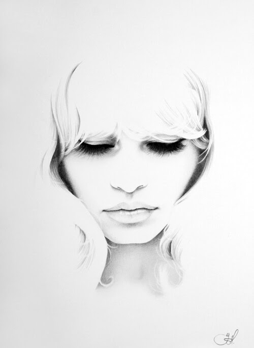 06-Brigitte-Bardot-Ileana-Hunter-Drawings-of-Minimalist-Realism-Meets-Celebrities-www-designstack-co