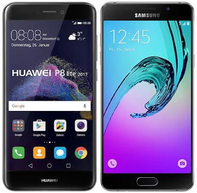 Huawei P8 Lite (2017) vs Samsung Galaxy A5 (2016)