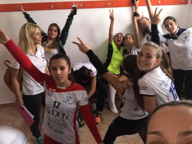 Αλκυών - Οίακας: Ντέρμπι νεανίδων στο Βόλεϊ το Σάββατο στο Ναύπλιο