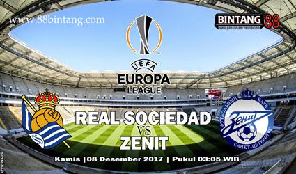 Prediksi Skor Real Sociedad vs Zenit St. Petersburg