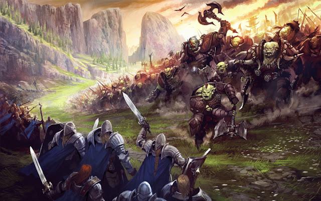 Orcs Invade Phandalin
