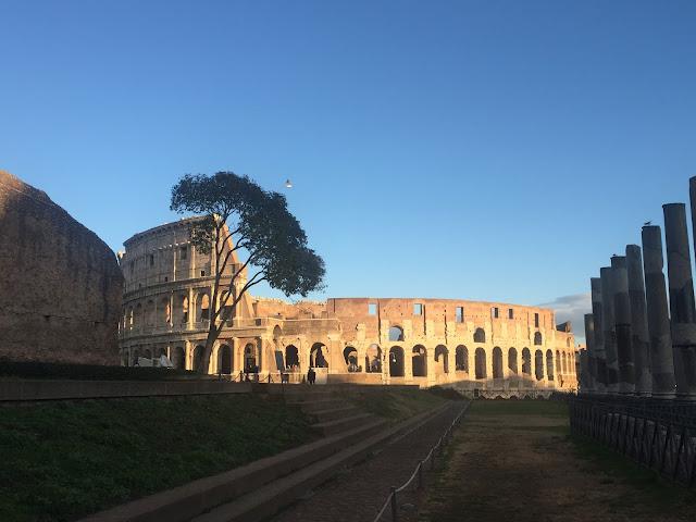 Forum Romanum, Colosseum és a Palatinus