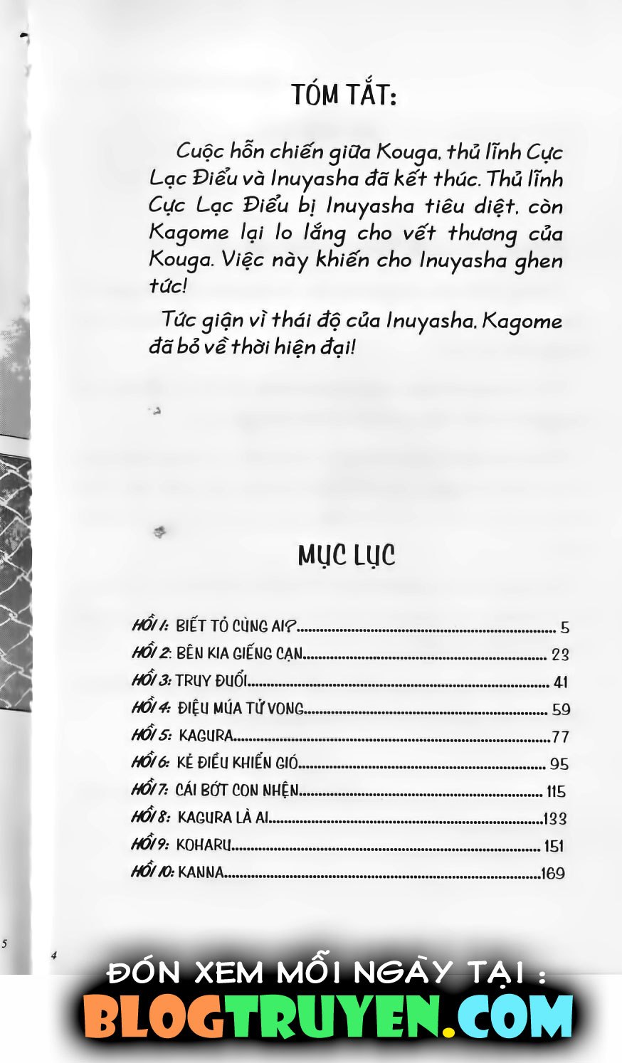 Inuyasha vol 15.1 trang 3