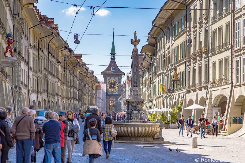 Gerechtigkeitsgasse Bern Switzerland Points of Interest