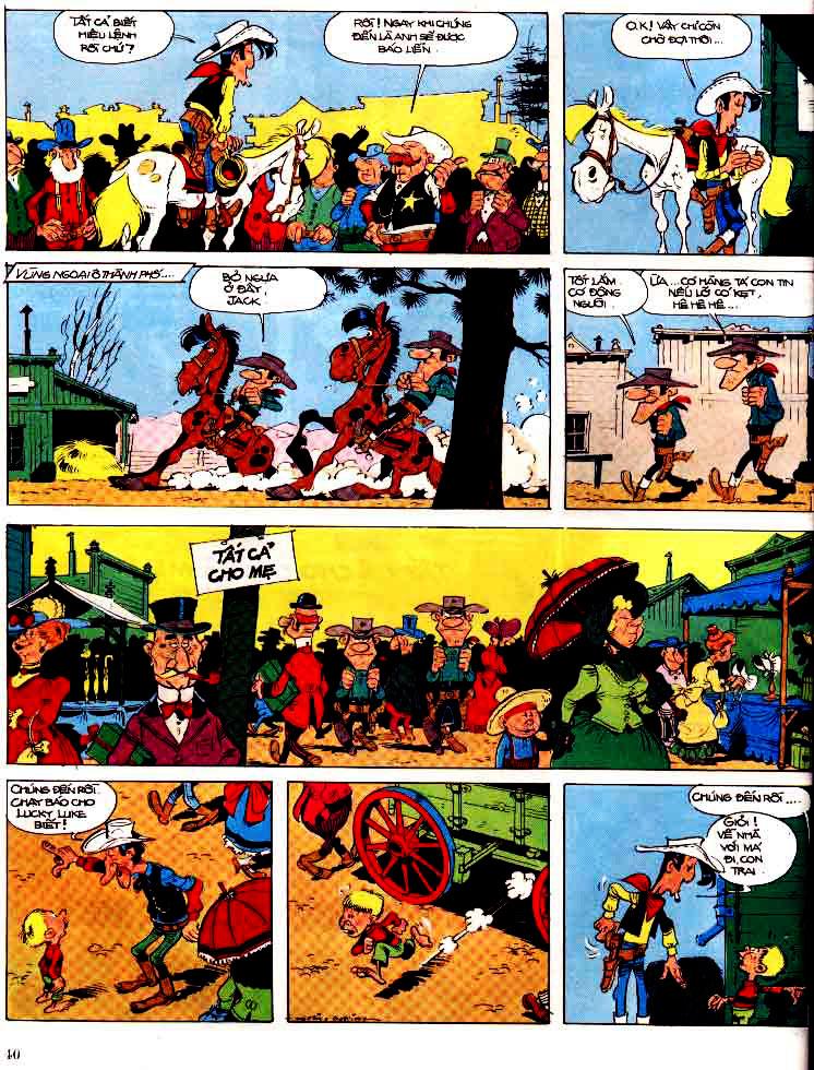 Lucky Luke tap 15 - ma dalton trang 41