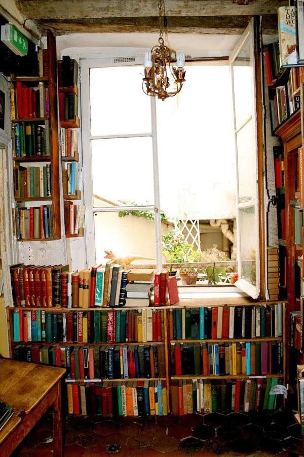 Livros na decoração - Biblioteca caseira