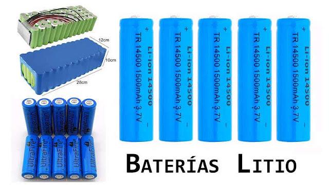 Baterías Litio, construcción, protección PCM/BMS y recarga