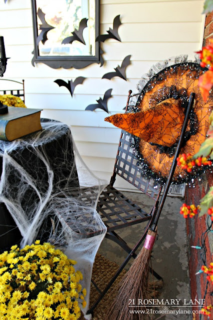 21 Rosemary Lane Halloween Front Porch-Treasure Hunt Thursday-From My Front Porch To Yours