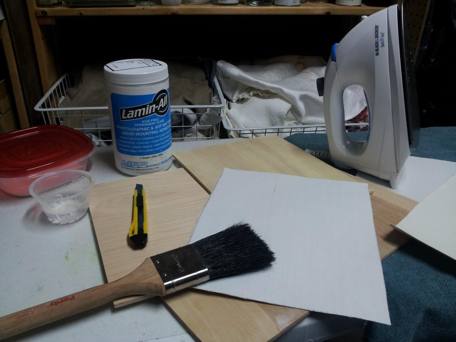 Deborah Elmquist Fine Art Making Canvas Panels