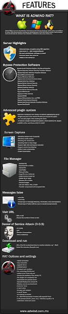 شرح برنامج الاختراق Adwind RAT لاختراق  جميع الامظمة أندرويد لينوكس ماك ويندوز
