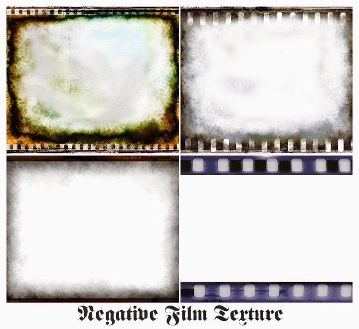 Текстуры плёночного негатива для Фотошопа