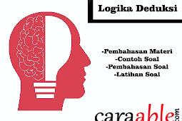Tes Psikotes Logika Deduksi Lengkap || Penjelasan Materi, Contoh Soal, Latihan Soal dan Pembahasan