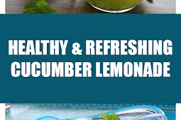 Healthy & Refreshing Cucumber Lemonade