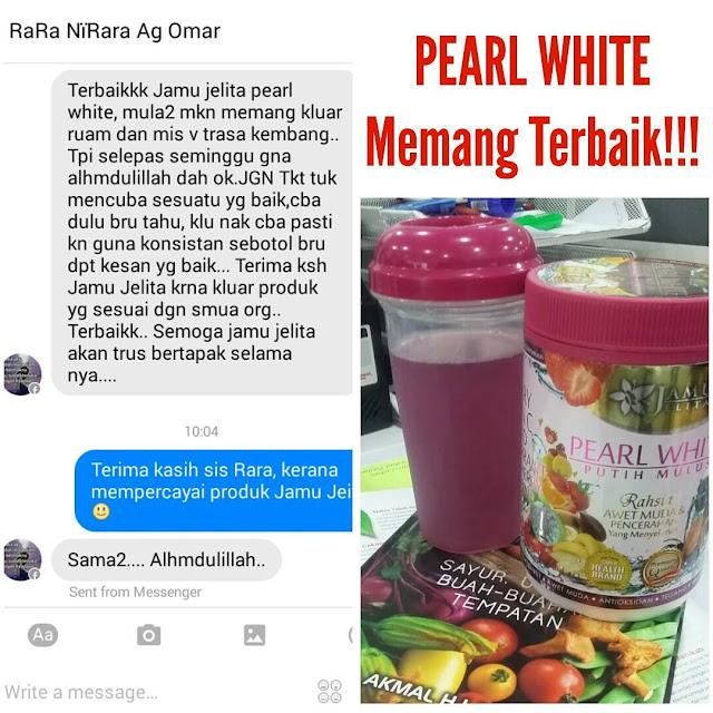 Testimoni Pearl White Putih Mulus